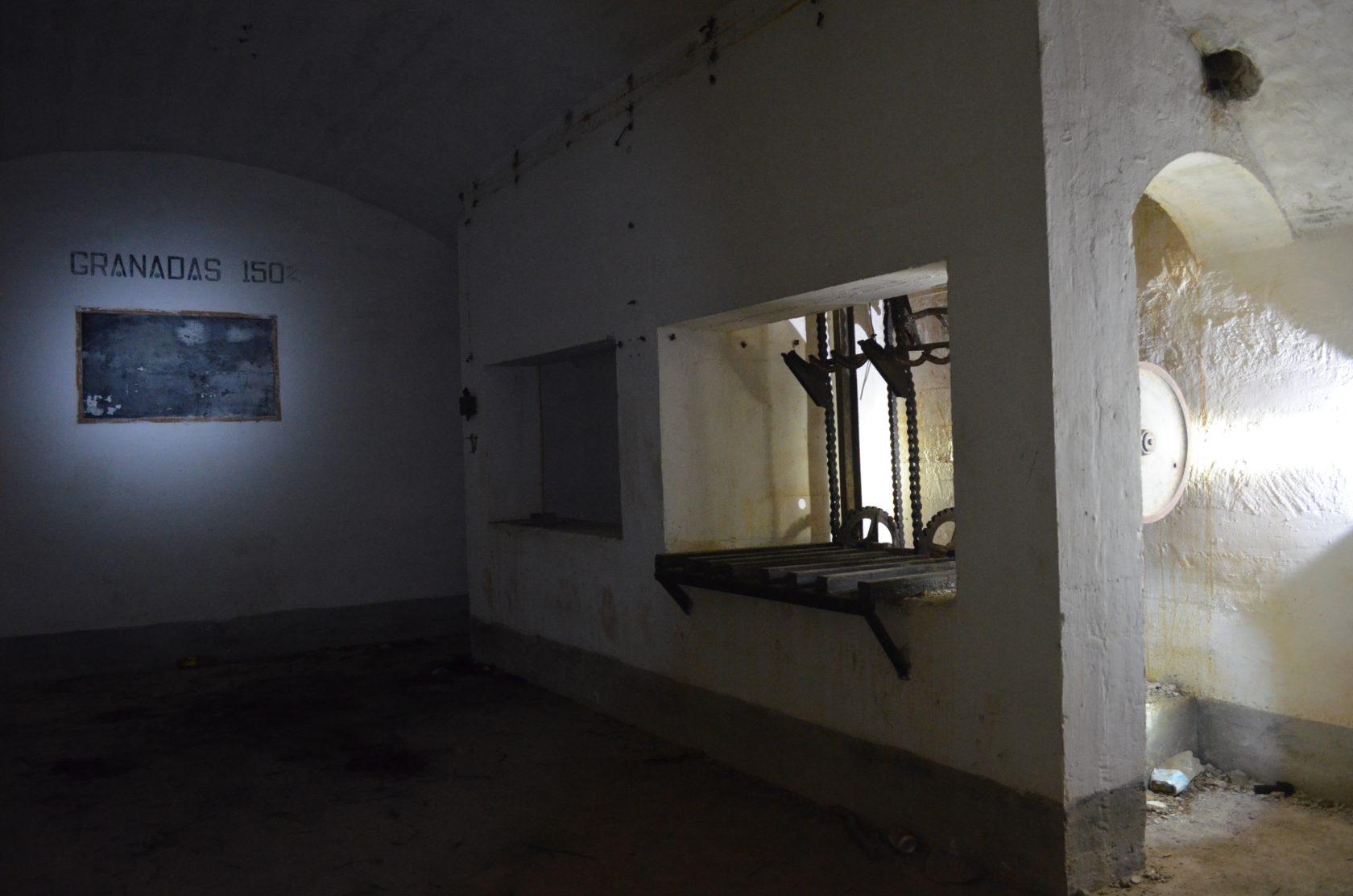 Bunkeranlage bei El Moro